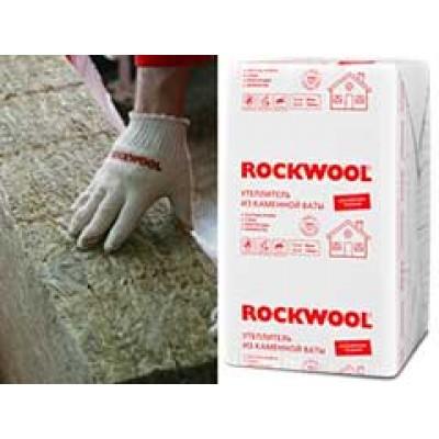Rockwool ЭКОНОМ 10см(2,4м2) Базальтовый утеплитель из каменной ваты