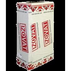 IZOVAT 100 (100мм. пл.105кг/м3)